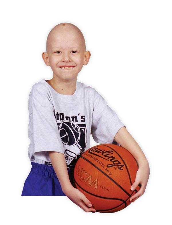 Killian with basketball